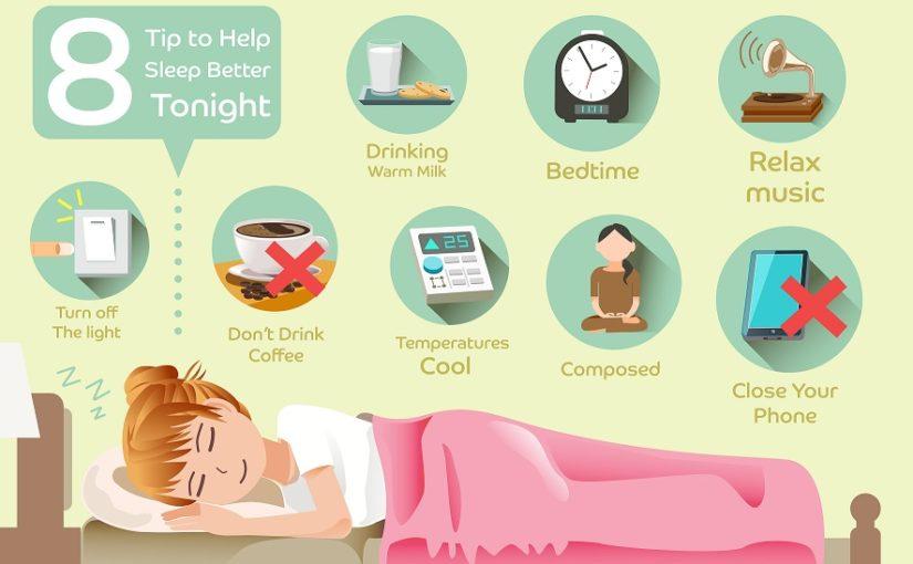 8 Tips to help Sleep Better Tonight