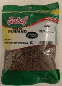 Esphand - Syrian Rue - Peganum harmala seeds