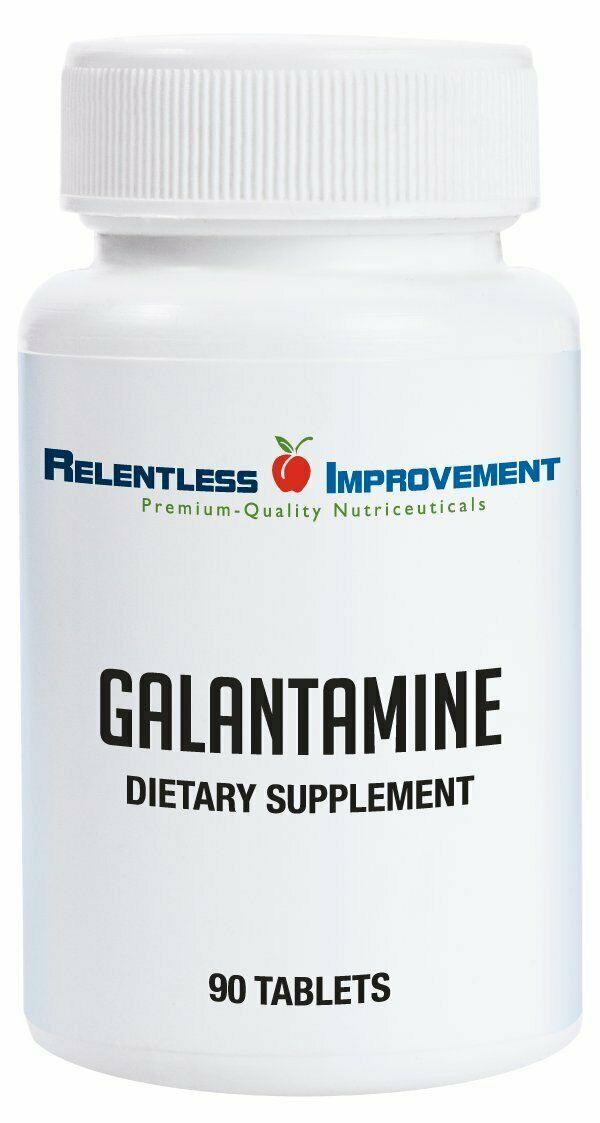 Relentless Improvement Galantamine 90 tabs
