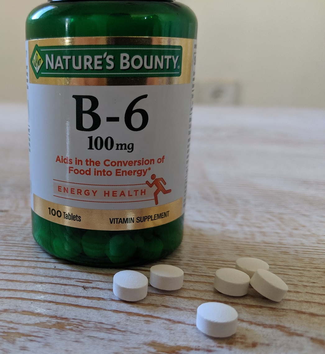 Vitamin B-6 (Nature's Bounty)